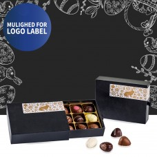 Black drawer box with Easter label