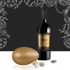 Eastergift with wine