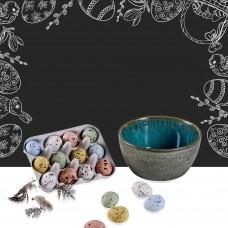 Bitz bowl with belgian bird eggs
