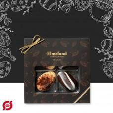 Elmelund Chocolatier giftbox with 4 eggs