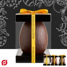 Elmelund Chocolatier chocolate egg large