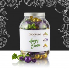 Cocoture chocolate balls in cylinder 1.2kg