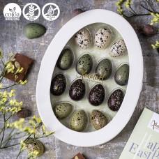 Xocolatl filled mini eggs, 14 pcs.